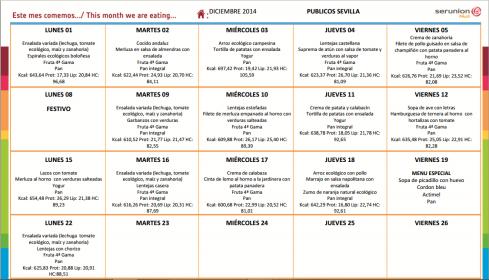 menu Diciembre 2014