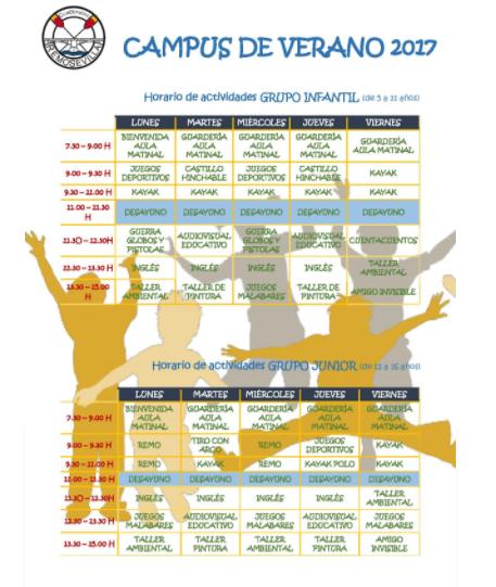 CAMPUS DE VERANO CLUB REMO SEVILLA 2