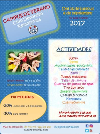 CAMPUS DE VERANO CLUB REMO SEVILLA