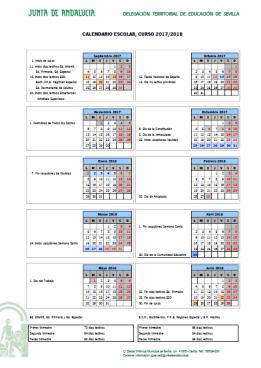 calendario 2017 2018